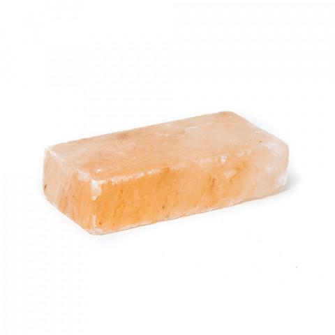 Mattonella di sale rosa dell'Himalaya cm 20x10x5